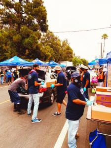 Labor Day Food drive Picture #2